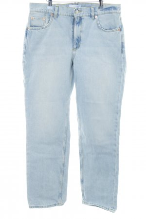 & other stories High-Waist Hose blau Casual-Look