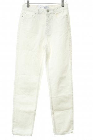 & other stories High Waist Jeans cream casual look