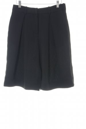 & other stories High-Waist-Shorts schwarz Business-Look