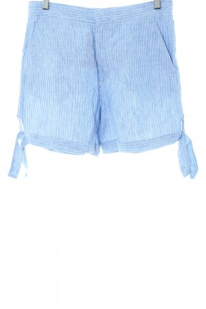 & other stories High-Waist-Shorts blau Streifenmuster Casual-Look