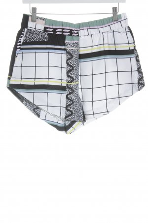 & other stories High-Waist-Shorts abstract pattern beach look