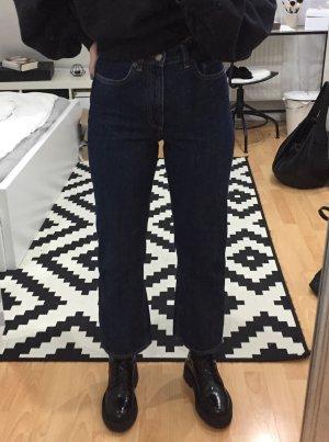 & Other Stories Highwaist Kickflare Jeans dunkelblau