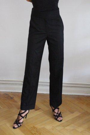 & other stories Pantalon à pinces noir tissu mixte
