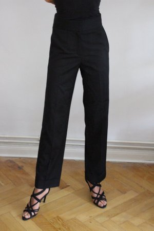& other stories Pleated Trousers black mixture fibre