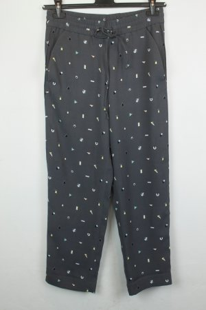 & Other Stories Hose Stoffhose Gr. 34 grau Muster