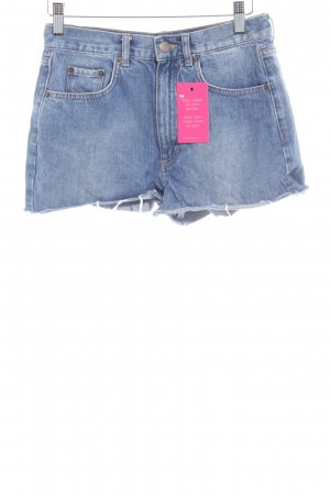 & other stories Hot Pants hellblau Used-Optik