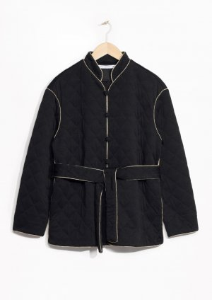"&other stories Jacke/Blouson M ""Quilted Emperor"" Kimono Bomber otherstories cos"