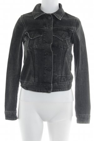 & other stories Jeansjacke schwarz Casual-Look