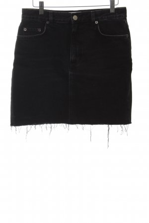 & other stories Denim Skirt black street-fashion look