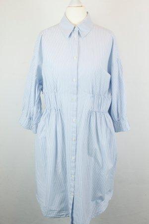 & Other Stories Kleid Blusenkleid Gr. 36 blau weiß Streifen