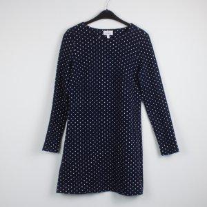 & OTHER STORIES Kleid Gr. 38 dunkelblau weiße Punkte (18/10/090)