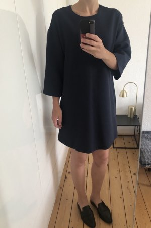 & other stories Kleid Mini oversized blau cropped Sweater Gr. 36