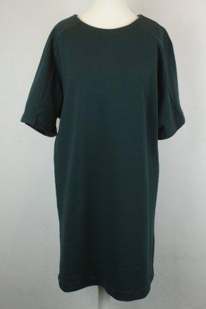 & Other Stories Kleid Sweatshirtkleid Gr. 38 grün kurzarm oversized