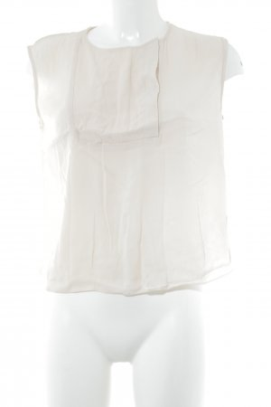& other stories Kurzarm-Bluse creme Casual-Look