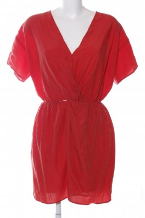 & other stories Kurzarmkleid rot Casual-Look