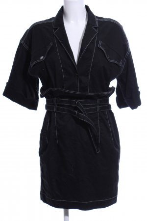 & other stories Shortsleeve Dress black-white casual look