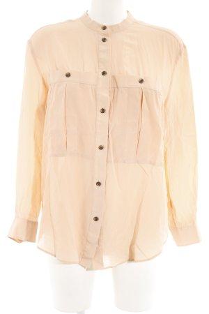 & other stories Langarm-Bluse apricot Elegant