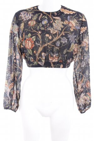 & other stories Long Sleeve Blouse floral pattern casual look