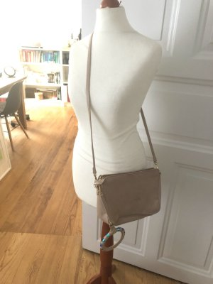 & other stories Leder Blogger nude Tasche