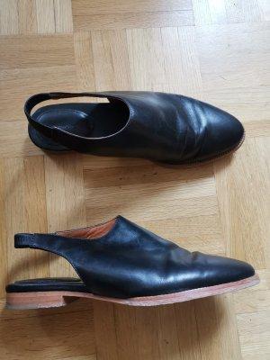& other stories Sabots black leather