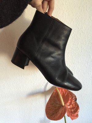 & other Stories Leder Stiefeletten Stiefel