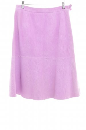 & other stories Leren rok mauve casual uitstraling
