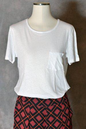 & other stories T-Shirt white mixture fibre