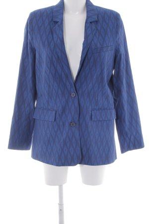 & other stories Long-Blazer blau-dunkelblau Karomuster Business-Look