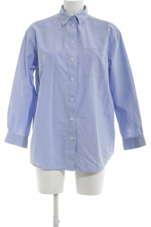 & other stories Long-Bluse blau Business-Look