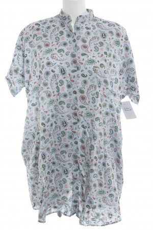& other stories Long-Bluse himmelblau florales Muster Boyfriend-Look