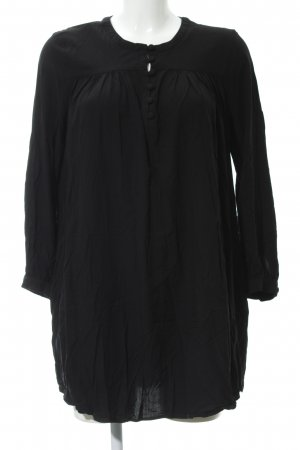 & other stories Long-Bluse schwarz Casual-Look