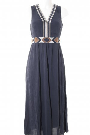& other stories Maxikleid abstraktes Muster Ethno-Look