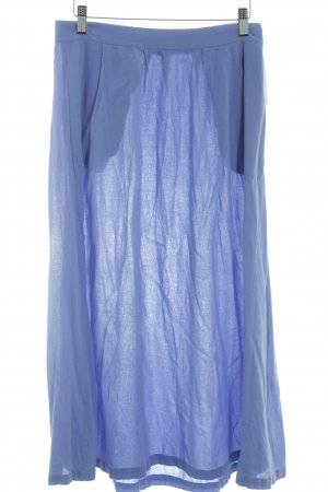 & other stories Midi-rok korenblauw casual uitstraling