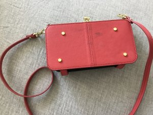 & other stories Mini Bag neon red leather