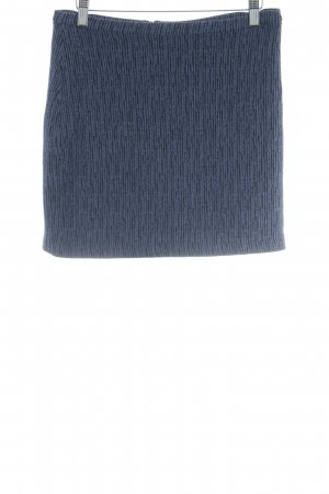 & other stories Mini-jupe noir-gris violet moucheté style décontracté