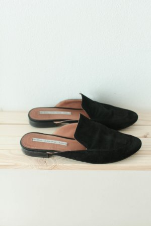 & other stories Sabots black suede
