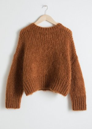 & Other Stories Oversize Grobstrick Pullover