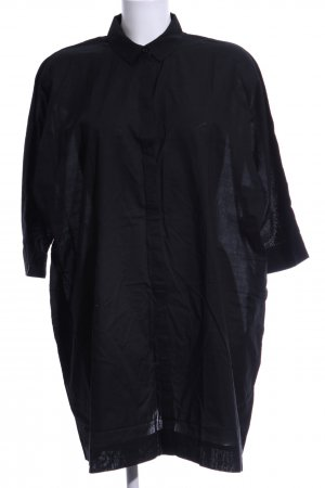& other stories Oversized Bluse schwarz Business-Look