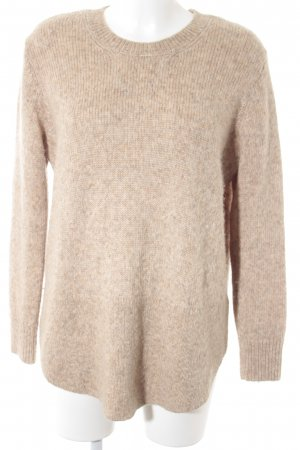 & other stories Oversized Pullover beige-hellbeige meliert Casual-Look