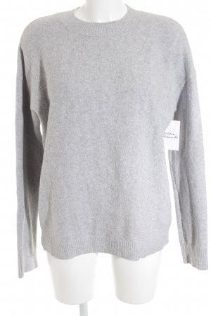& other stories Jersey holgados gris claro look casual
