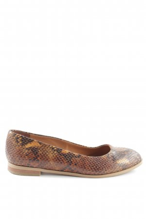& other stories Peeptoe Ballerinas Animalmuster Casual-Look