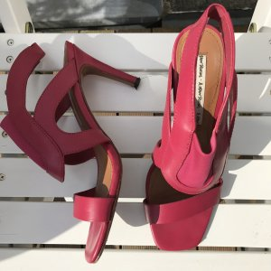 & other stories Pinke Leder Stilettos Leder