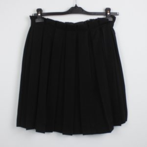 & other stories Pleated Skirt black polyester