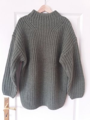 & other stories Sweater green grey-khaki