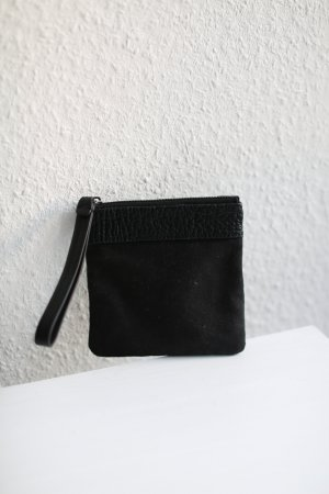 & Other Stories Purse Wallet Clutch Stoff Echtes Leder Tasche