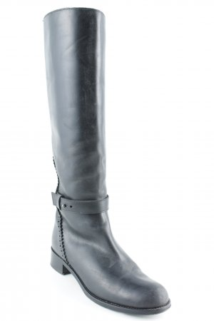 & other stories Riding Boots black rider style