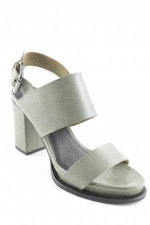 & other stories Strapped High-Heeled Sandals sage green casual look