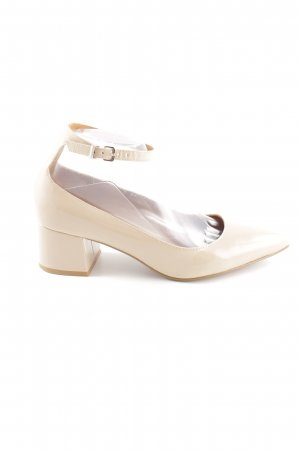 & other stories Riemchenpumps creme Business-Look