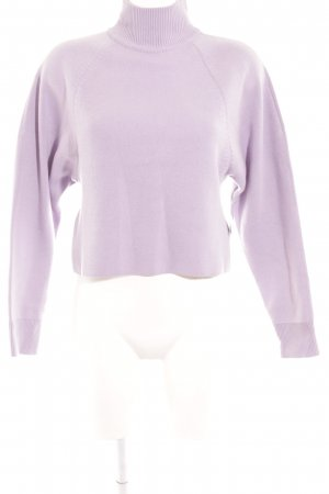 & other stories Turtleneck Sweater purple casual look