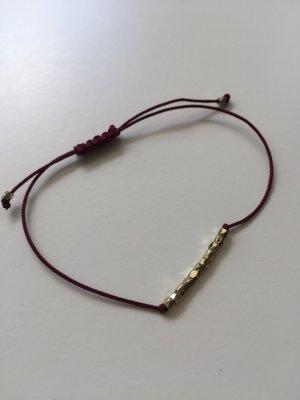 & other Stories rot/gold Armband Modeschmuck